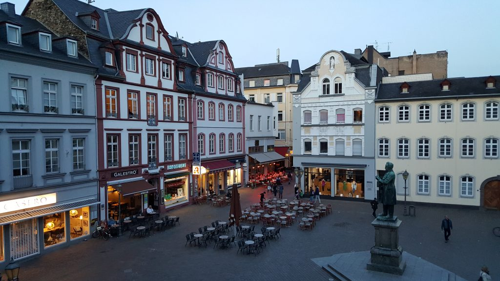 altstadt hotel caf in koblenz germany maria de lux. Black Bedroom Furniture Sets. Home Design Ideas